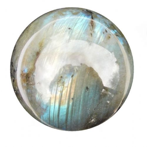 Labradorite Crystal Ball Scrying Divination Fortune Telling Sphere 58mm 280g LA3